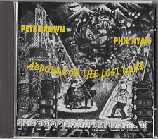 Pete Brown & Phil Ryan - Ardours Of The Lost Rake CD (Ex Man Band)