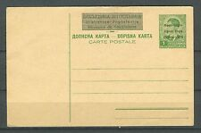 MONTENEGRO WWII ITALIAN OCCUPATION 1941 - CRNA GORA 17-IV-41-XIX STATIONERY
