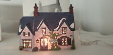 "D56 Dickens Village Series #5553-0 Oliver Twist ""Brownlow House""- 1990 - Lighted"