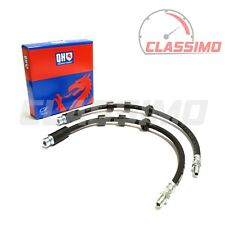 Front Brake Flexi Hose Pair for FORD MONDEO Mk 3 + JAGUAR X-TYPE - 2000 to 2007