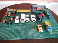 Vintage Die Cast Vehicle Joblot For Restoration, Spares/ Repairs. Corgi &...