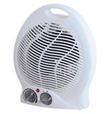 Fan Heater 2000w Electric Flat Upright 2 Heat Settings & Cool Blow Thermostat