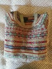 J crew sweater mens size small S cream tan fair isle new with tags