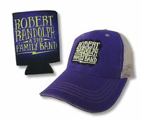 Robert Randolph & Family Band Purple Trucker Hat Cap with FREE Can Cooler