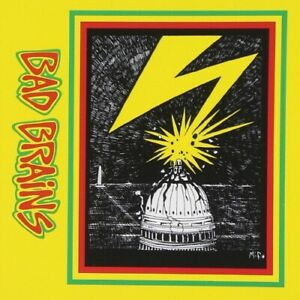 Bad Brains SELF TITLED Debut Album REMASTERED New Sealed Black Vinyl Record LP