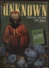 Unknown 1940 June.   Pulp.