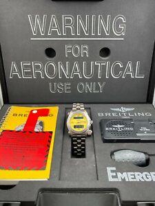 Breitling Emergency E56321 Titanium Quartz with Box