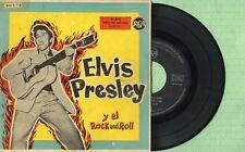ELVIS PRESLEY / El Rock And Roll / RCA 3-20161 Spain 1959 EP 45 rpm VG+