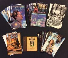 ARIA Comic Books 4 Complete Series Sketchbook Midwinters Dream Lot of 21 Image