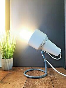 VINTAGE 1960'S INDUSTRIAL PHILIPS ADJUSTABLE HEAT HEALTH LAMP DESK LIGHT RETRO