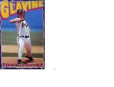 New listing RARE NO PIN HOLES NOS MINT 1996 TOM GLAVINE ATLANTA BRAVES MLB BASEBALL POSTER