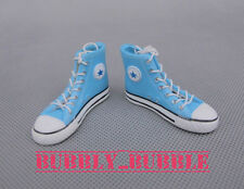 "1/6 Converse All Star Style Men Sneakers BLUE For 12"" Male Figure SHIP FROM USA"