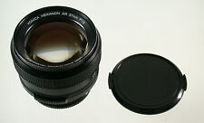 Konica Hexanon AR 1,2/57 57 57 mm f1, 2 1,2 SUPERFAST Modular a7 EOS MFT NEX Top