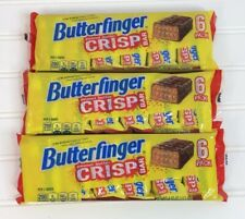 3 Butterfinger ORIGINAL Peanut Butter Crisp Bar 6 Packs  Discontinued Formula