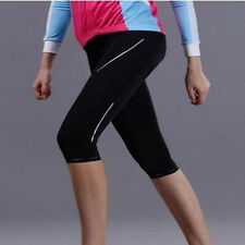 Comfortable Women Bicycle Pants Cycling Gel 3D Padded Bike Short Pants Tights