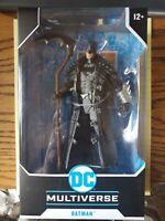 "DC Multiverse McFarlane Dark Nights/Knights Death Metal Batman 7"" Action Figure"