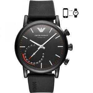Hybrid Smartwatch Uomo EMPORIO ARMANI ART3010 Silicone Nero