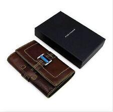 PIQUADRO PD1853LA/TM Women's Brown Wallet Retail $210 NEW!! SUPER SALE!!