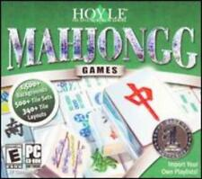 Hoyle Mahjongg Games PC CD ancient tile sets backgrounds strategy variation #44