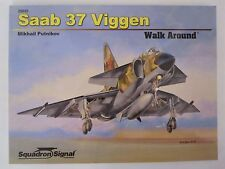 Squadron Book: Saab 37 Viggen Walk Around- 195 photos & drawings SC