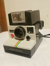 POLAROID SX-70 RAINBOW STRIPE CAMERA