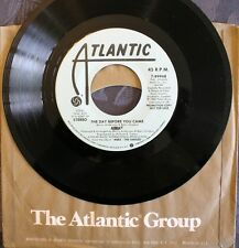 "ABBA ""the day before you came"" 45 RPM 1982 ATLANTIC 7-89948 Collector RARE"