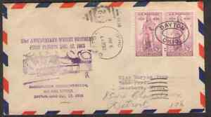 US. 777. 33rd  Anniv. Wright Brothers First Flights. Dayton, OH.  Dec, 17. 1936