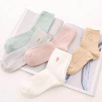 Fashion Winter Soft Comfort Women Cotton Socks Cute Cat Breathable Socks