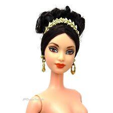 Barbie Princesa De La Antigua Grecia Muñecas del mundo Nude Nuevo Con Soporte