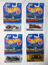 Mattel Hot Wheels CAR-TOON FRIENDS SERIES Collector#'s 985 986 987 988 4 car set