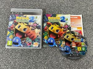 Pac-Man and the Ghostly Adventures 2 Sony PlayStation 3 PS3 Game COMPLETE Manual