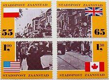 Stadspost Zaanstad - Serie 50e Herdenking Bevrijding 1945-1995 postfris