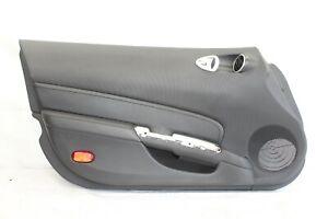 2008 NISSAN 350Z Z33 COUPE #148 LEFT DRIVER DOOR PANEL BLACK