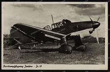 Foto-AK-Junkers-Ju 87-Sturzkampfflugzeug-Stuka-Luftwaffe-Wehrmacht-2.WK-3
