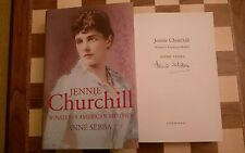 Jennie Churchill: Winston's American Mother SIGNED Anne Sebba HB 2007 1st/1st