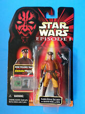 Star Wars Episode I NABOO ROYAL SECURITY CommTech Red Card 1999 Hasbro NIP