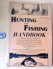 HUNTING & FISHING HANDBOOK,1944,Various Artists,Illust