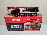 Grove GMK5130-2 Mobile Crane - Mammoet - WSI 1:50 Scale Model #410079 New!