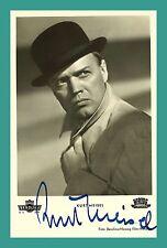 KURT MEISEL | Schauspieler | Original-Autogramm auf KuB-Starpostkarte