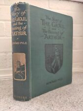 Story of The Grail and Passing of Arthur HOLY GRAIL MAGIC Howard Pyle 1st 1910