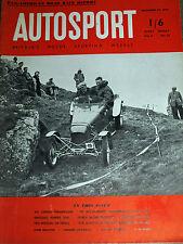 Autosport November 26th 1954 *Carerra Panamerica Road Race*