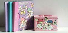 Sanrio Little Twin Stars Set of 3 Photo and CD Album/Storage Box & Tin File Box