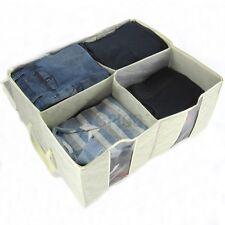 Jumbo Storage Bag sotto materasso portaoggetti scatole Crema-Karla