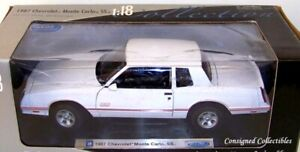 Welly 1987 CHEVY MONTE CARLO SS 1/18 MIB!