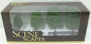 "Bachmann 32106 SceneScapes(TM) Layout Ready Trees  Deciduous Trees 2 3"" pkg(4)"