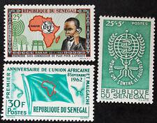 Sello SENEGAL Stamp - Yvert y Tellier n°213 à 215 N (SEN1)