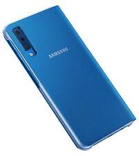 Custodia Cover Flip Originale Samsung Ef-wa750 Blu per Galaxy A7 2018 Sm-a750f