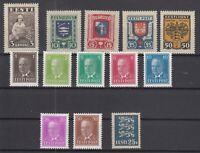 AY5560/ ESTONIA – 1935 / 1936 MINT MH SEMI MODERN LOT – CV 175 $