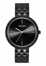 Nixon Original Vix Women's  A1171-001 All Black Stainless Steel 34 mm Watch