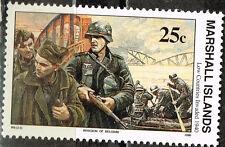 Marshall Isl WW2 1940 German Invasion of Netherlands and Belgium stamp MNH